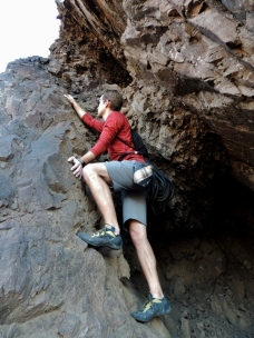 Rock Climbing with Rhone Apparel